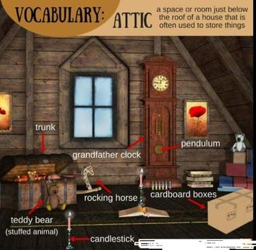 Vocabulary simple poster