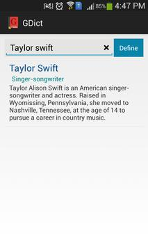 GDict - Google Dictionary screenshot 4