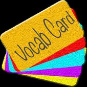 Vocab Card icon