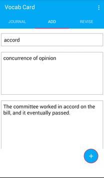 Vocab Card screenshot 1