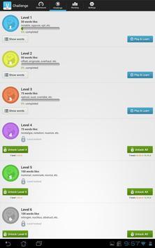 IELTS Exam Vocabulary Free apk screenshot