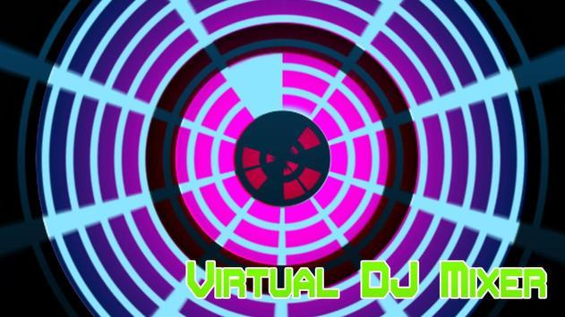 Virtual DJ Mixer poster