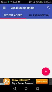 Vocal Music Radio apk screenshot