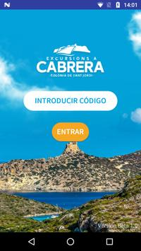 GuidePlay Excursiones Cabrera poster