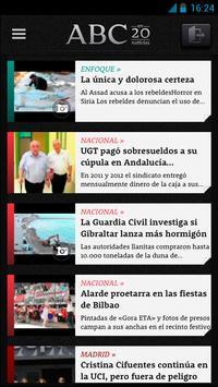 ABC en 20 Noticias apk screenshot