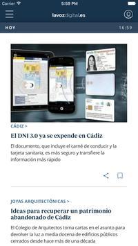 La Voz de Cádiz: noticias online poster