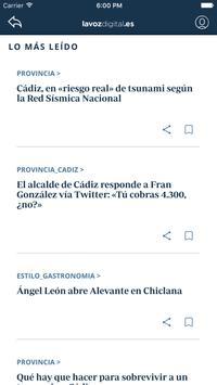 La Voz de Cádiz: noticias online apk screenshot