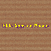 Hide Apps on Phone icon