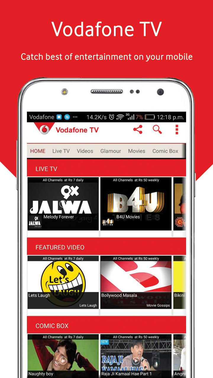 Vodafone Mobile TV Live TV for Android - APK Download