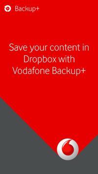 Vodafone Backup+ poster