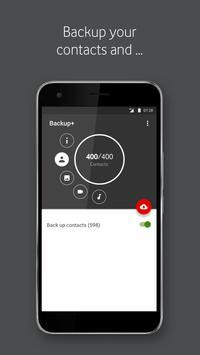 Vodafone Backup+ apk screenshot