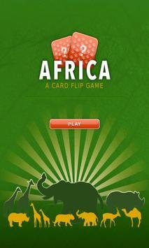 Card flip - Africa poster