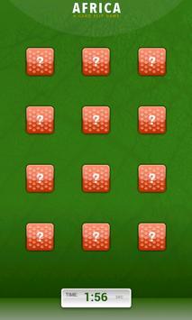 Card flip - Africa apk screenshot