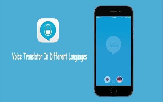 Voice Translator In Different Languages poster