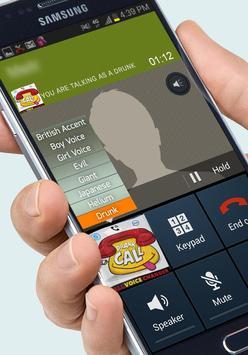 Voice changer during call screenshot 1