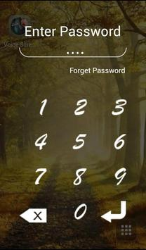 Voice Screen Locker screenshot 1