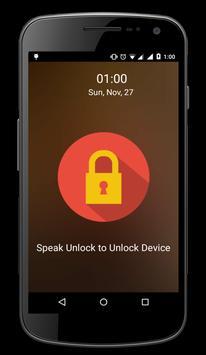 Voice Lock Screen Voice Unlock screenshot 4