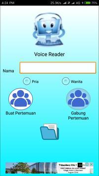 Voice Reader apk screenshot