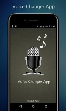 Voice Changer App poster