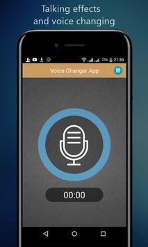Voice Changer App screenshot 1
