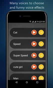 Voice Changer App screenshot 2