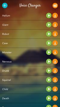 Sound Changer apk screenshot