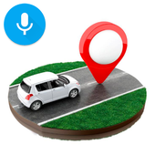 Voice GPS Navigation and Maps Places icon