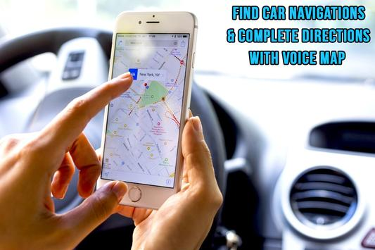 Voice GPS Navigation and Maps Places screenshot 3