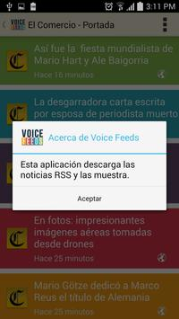 Voice Feeds apk screenshot