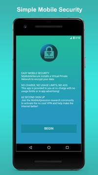🔒 MyMobileSecure 🔒 Unlimited VPN poster