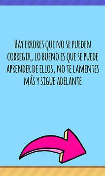Motivational quotes in Spanish screenshot 11