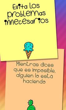 Motivational quotes in Spanish screenshot 1