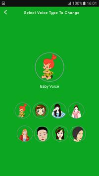Voice changer during call Male to Female screenshot 3