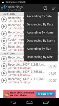 Voice Note - Audio Recorder screenshot 5