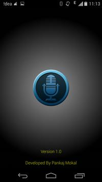 Voice Note - Audio Recorder poster