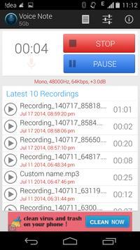 Voice Note - Audio Recorder screenshot 2