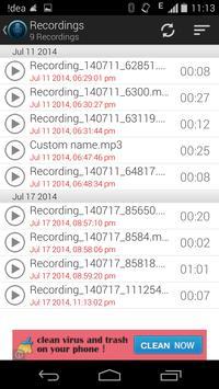 Voice Note - Audio Recorder screenshot 3