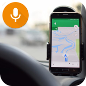 GPS Voice Navigation & Maps Tracker icon