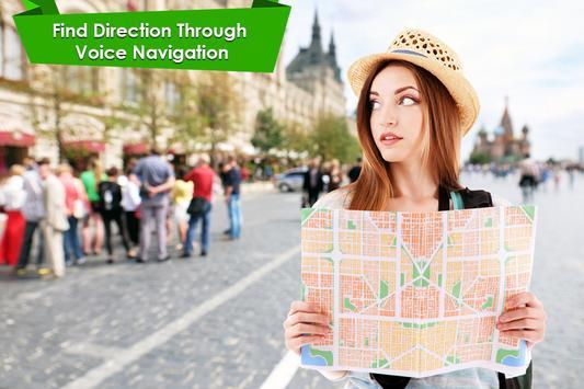 GPS Voice Navigation & Maps Tracker screenshot 1