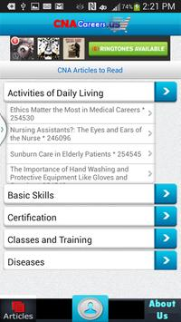 Free CNA Nursing Aide Articles poster
