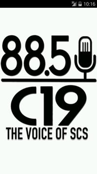 The Voice of SCS poster