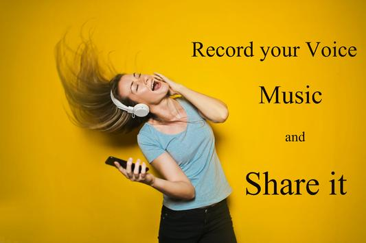 Voice & Music Recorder apk screenshot