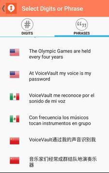 VoiceVault ViGo screenshot 3