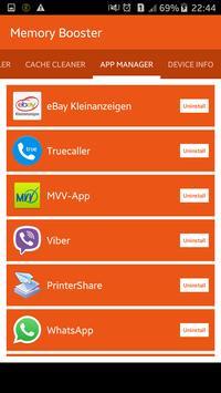 Phone Memory Booster apk screenshot