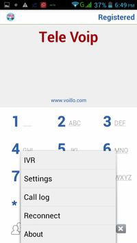 Tele Voip screenshot 1