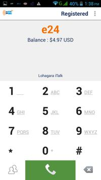 e24 Dialer screenshot 1