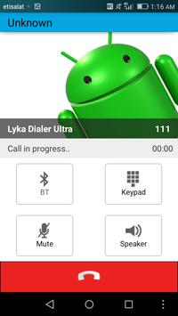 Lyka Dialer Ultra apk screenshot