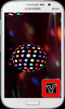 Disco Ball  Laser Lights poster
