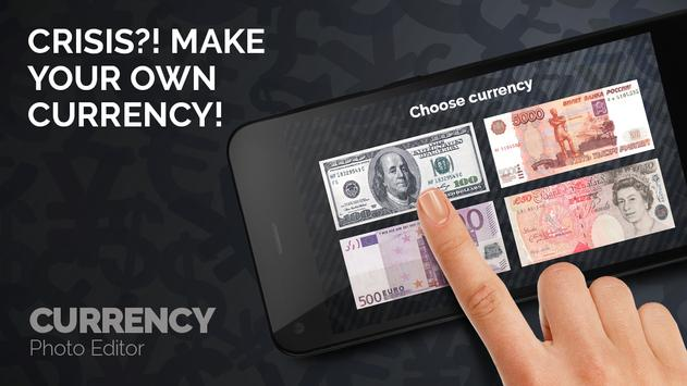 Currency Photo Editor poster