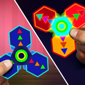 Light Fidget Spinner icon